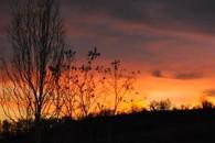 coucher soleil Domaine Equestre d'Ilohé