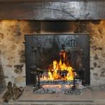 Maison cheminée détente feu de bois